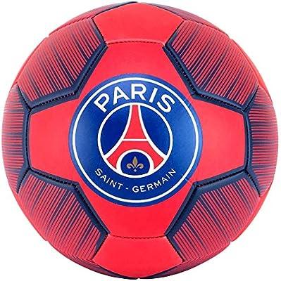 PSG - Balón de fútbol Oficial de Paris Saint-Germain - Rojo ...