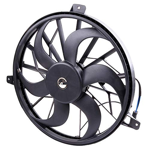 OCPTY Replacement Cooling Fan Assembly for Jeep Grand Cherokee
