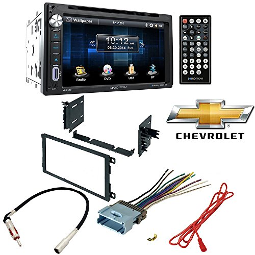- Soundstream Double Din VR-651B DVD/CD/MP3 Player 6.5