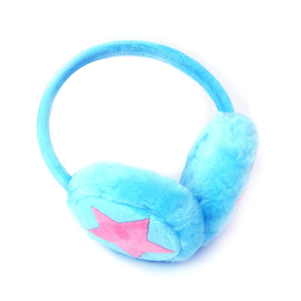 Kottca Kids Earmuff Ears Pad Warm Winter Plush Girls Boys Earflap