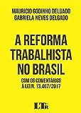 capa de A Reforma Trabalhista no Brasil