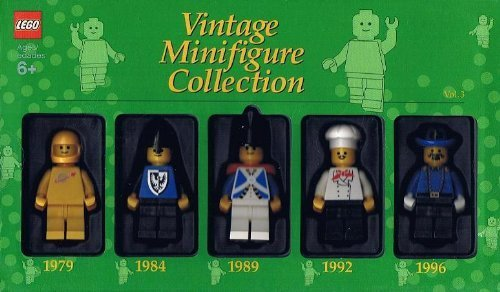 Lego Vintage Minifigure Collection Volume 3 1979, 1984, 1989, 1992, 1996/Ready for Christmas
