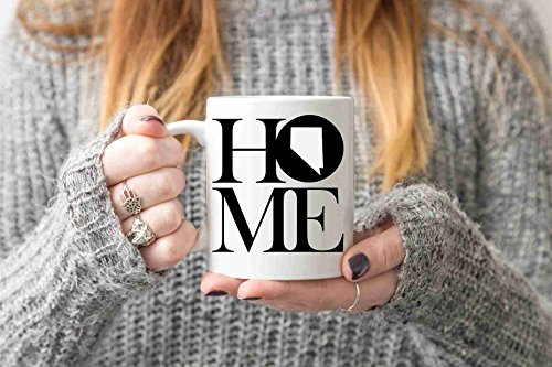 (Nevada Mug State Mug Coffee Mug Home Mug Homesick Gift Personalized Mug Custom Mug Nevada Gift Welcome Home Gift New Home Gift )