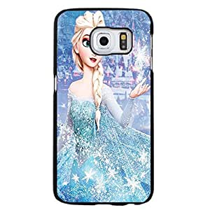 Hispter Samsung Galaxy S6 Edge Plus Cover,Disney Frozen Princess Phone Case Custom Personal Animation Frozen Protective Case Cover Comic&Cartoon Movie Style