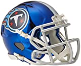Riddell Chrome Alternate NFL Speed Authentic mini Size Helmet Tennessee Titans