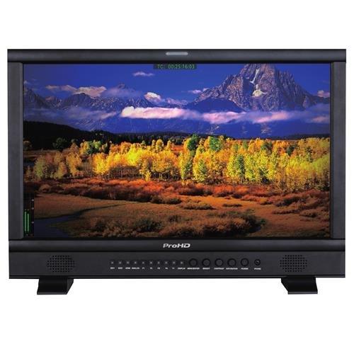 "JVC DT-N21H 21.5"" Full HD Broadcast Studio LED Monitor, 1920x1080, Gold Mount Battery Plate"