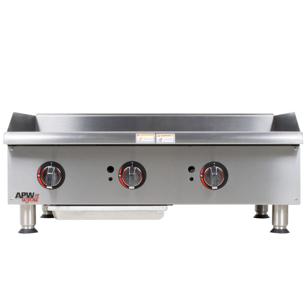 "APW Wyott GGM-36i Champion Gas 36"" Countertop Griddle with Manual Controls"