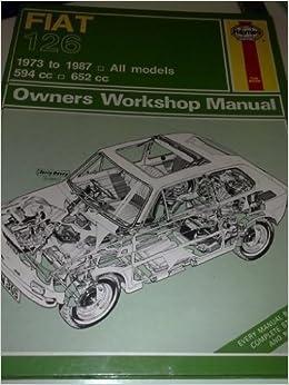 Fiat 126 1973-87 Owners Workshop Manual (Classic Reprints: Owners workshop manuals) by J. H. Haynes (1988-09-01) Mass Market Paperback – 1864