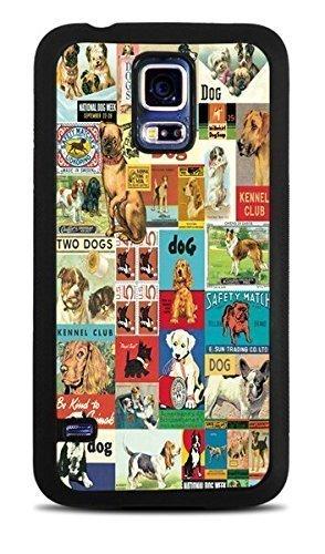 Amazon.com: clásico decoupage Perros Negro Carcasa de ...
