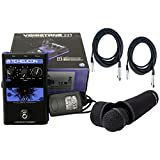 TC-Helicon VoiceTone H1 Vocal Harmony Effect Pedal w/TC Helicon MP-75 Microphone and 2 FREE (20') XLR Cables