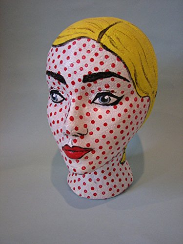 Styrofoam Mannequin Head with Female Face (1) by NaRaMax (Image #2)
