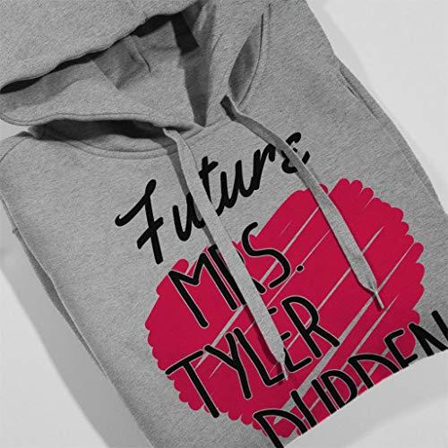 Coto7 Sweatshirt Grey Mrs Durden Tyler Women's Future Heather Hooded UfrwqU