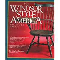 Image for The Windsor Style in America: The Definitive Pictorial Study of the History and Regional Characteristics of the Most Popular Furniture Form of 18th Century America 1730-1840 (Vol 1 & 2)