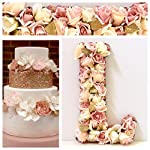 Flower-Letters-for-Walls-Silk-Flowers-on-Wood-Base-Nursery-Wall-Decal-Your-Choice-of-Floral-Colors-135-18-23-Hanging