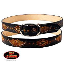 Hot Leathers Live Free, Ride Free Embossed Belt 32