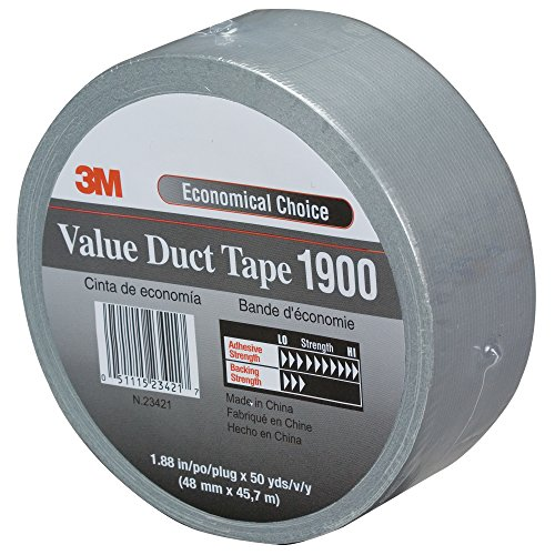 (Boxes Fast 3M 1900 Duct Tape, 5.8 Mil, 2