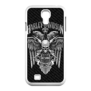 Samsung Galaxy S4 9500 Cell Phone Case White_Harley Davidson_001 H5F8T
