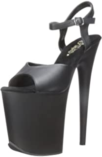 7cfd7a64651 Pleaser Women s Flamingo-809 Flatform Sandals