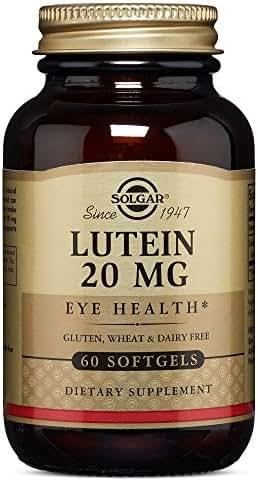Solgar – Lutein 20 mg, 60 Softgels
