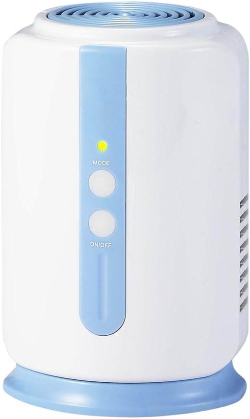 Minipurificador de aire con ventilador e ionizador integrados ...