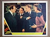 EQ44 Unholy Partners EDWARD G. ROBINSON Lobby Card. This is an original lobby card; not a dvd or video. Lobby cards were used to advertise film playing at theater and they measure 11 by 14 inches.