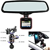 AccessoryBasics Car Rearview Mirror Mount Kit for Garmin Dash Cam 10 20 25 Driving Recorder DASHCAM