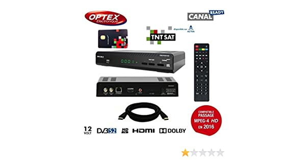 Optex Ors 9989 HD sintonizador sí (MPEG4 HD): Amazon.es ...