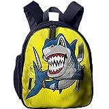Best Minecraft Bookbags For Boys - Smile Cartoon Shark Boys School Backpack Cute Zipper Review