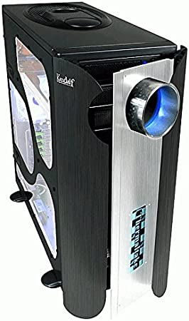 Thermaltake Computer enclosure Kandalf VA9003BWS Full-Tower Negro: Amazon.es: Electrónica