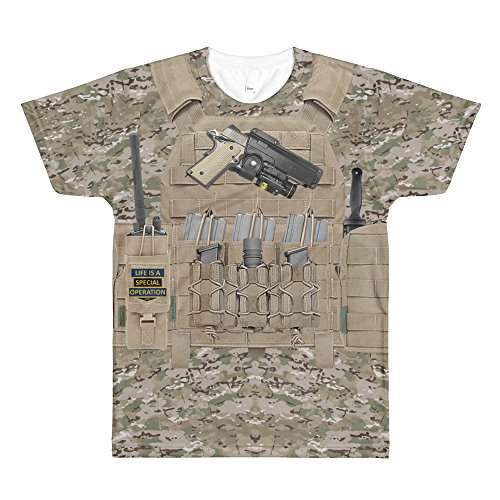 Life is a Special Operation Special Forces Body Armor - Body Operations Armor Special