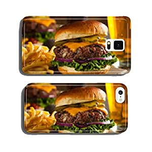 Grass Fed Bison Hamburger cell phone cover case Samsung S5