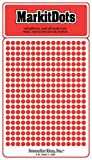 """Small 1/8"""" removable Mark-it brand dots for"""