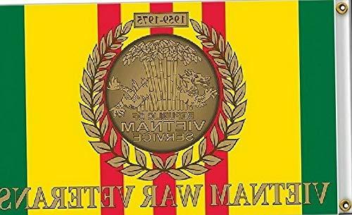 Heaven Embroidered Tunic - Hebel 3x5 Vietnam Vet War Veterans Veteran Ribbon 1959-1975 Flag 3x5 Banner Grommets | Model FLG - 212