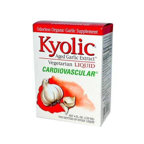 Kyolic Aged Garlic Extract Cardiovascular Liquid - 4 Fl Oz by Kyolic