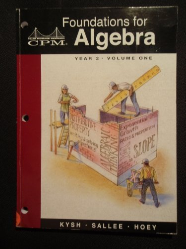 Read Online Foundations for Algebra: Year 1 pdf epub