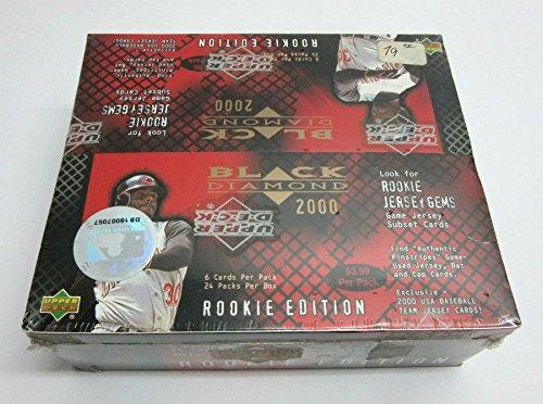 2000 Black Diamond Rookie Edition (2000 Upper Deck Black Diamond Baseball Rookie Edition Box (Retail))