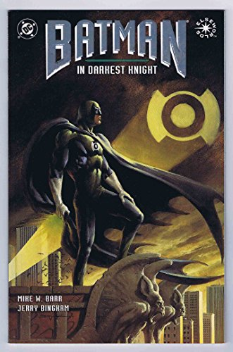 Autographed Print (Batman In Darkest Knight #1 Near Mint- 1st Print 1994 DC Comics Elseworlds)