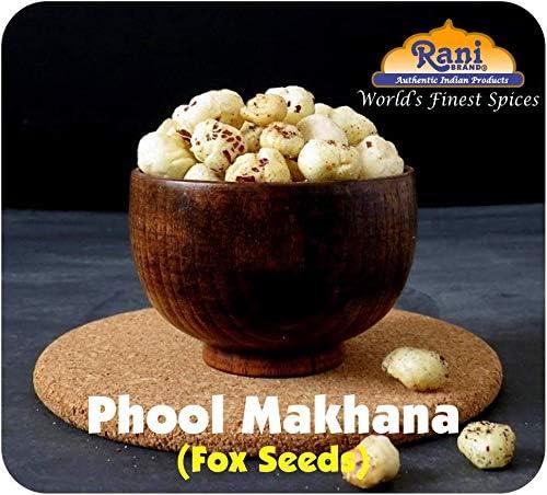 Rani Phool Makhana (Fox Tuerca / metimos la semilla de Lotus) 100g