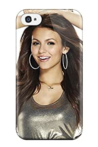 For EpxClqg11804tQJVE Victoria Justice Protective Case Cover Skin/iphone 4/4s Case Cover