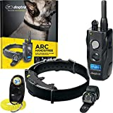 Dogtra ARC HANDSFREE Remote Training Dog Collar - 3/4 Mile Range, Hands Free Remote Controller, Waterproof, Rechargeable, Shock, Vibration - Includes PetsTEK Dog Training Clicker