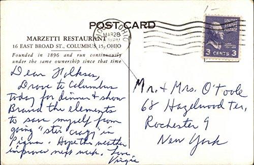 Amazon com: Marzetti Restaurant Columbus, Ohio Original