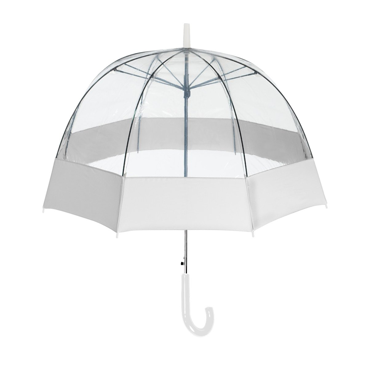 ShedRain® Auto Open Bubble With Sewn Fabric Border: White and Clear free shipping