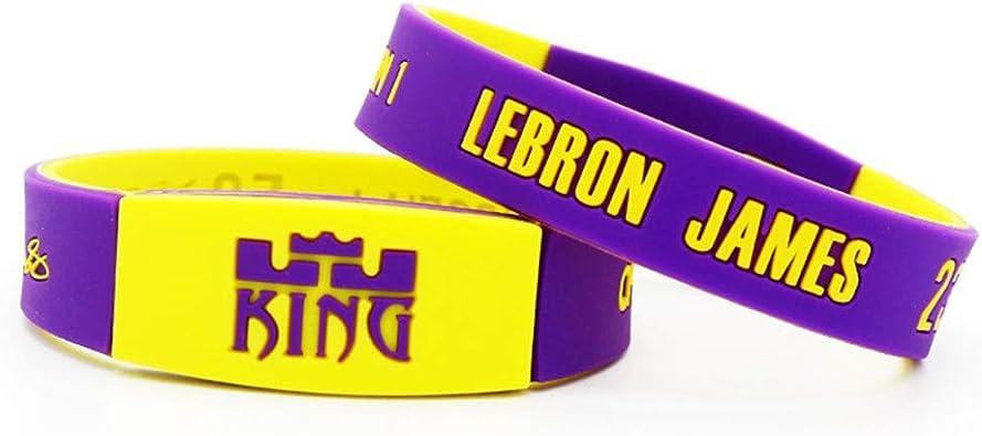 auvwxyz. Pulseras Pulsera de Baloncesto Lakers James Zhan Huang 23 ...