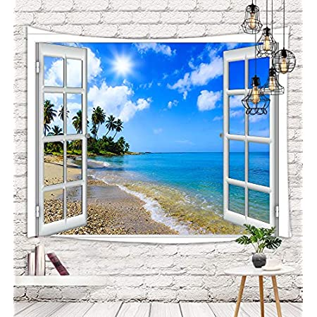 5143Y-onHAL._SS450_ Beach Tapestries and Coastal Tapestries