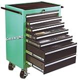 Mannesmann 321-teiliger Werkstattwagen komplett befüllt mit Werkzeugen in 6 Schubladen, M28270