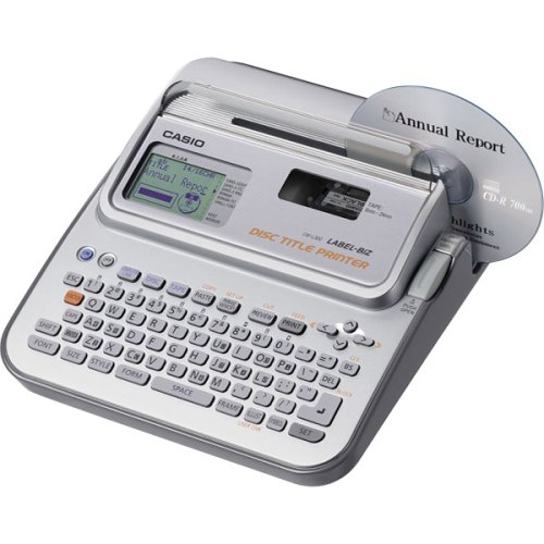 CSOCWL300 - Casio CW-L300 Disc Title Printer amp;amp; Label Maker (Printer Keyboard Casio)