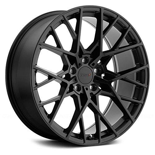 TSW Sebring 17x8 5x114.3 +40mm Matte Black Wheel Rim (03 Cadillac Cts Rims)