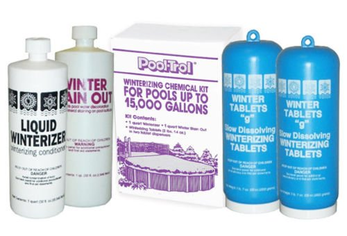 Pool-Trol Swimming Pool Winterizing Closing Kit 15,000 Gallon (Pool Backwash Hose Reel compare prices)