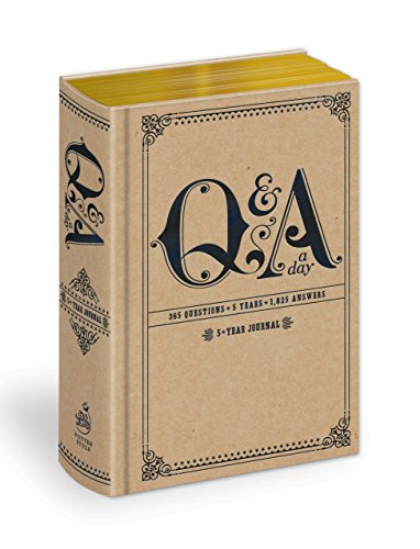 Q and A a Day: 5-Year Journal (Q&A a Day) Diary – 28 Dec. 2010