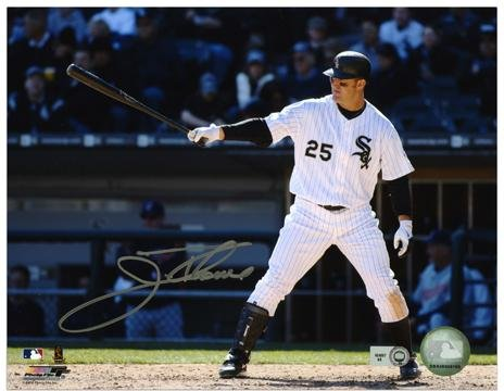 Jim Thome Chicago White Sox Autographed 8